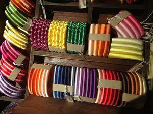 Bracelets in the boutique