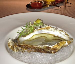 The Dome's oyster...