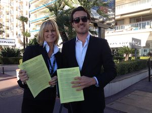 Carrie Els and Bradley Cocks, Hotel Insiders