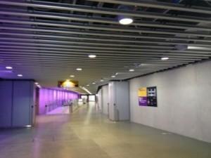 Subterranean walkway, Heathrow Terminal Five