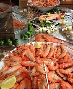 Buffet selection, Brittany Ferries