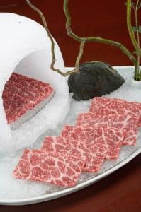 Creative ice igloo for sashimi or carpaccio - MEGU Midtown, Trump World Tower, New York