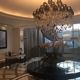 Elegant lobby...