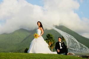 Jessica Schwartz and Neil Cohen - wedding at Four Seasons Nevis luxury hotel