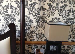 .. a bold bedroom wall