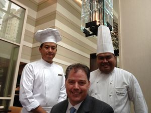 JPteres chefs and their boss