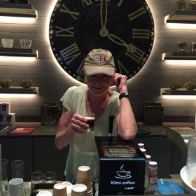 Pulling a NITRO coffee