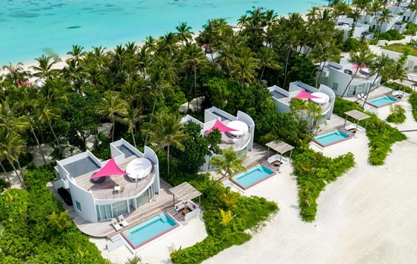 LUX* North Male Atoll double-storey penthouse residences in the Maldives