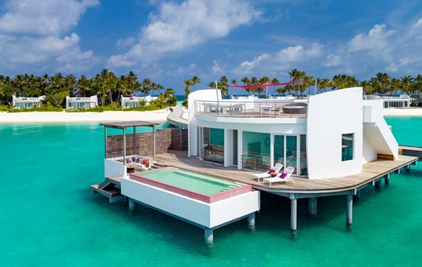 LUX* North Male Atoll double-storey penthouse residence in the Maldives