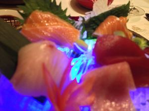 MEGU sashimi
