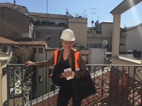 Balcony of 419, Mandarin Oriental Milan
