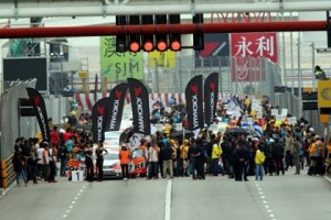 Macau starting grid