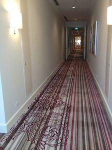 Raffles corridor, 110m long