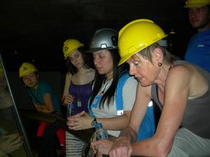 Hats are mandatory during Itaipu Dam tour, Iguazu Falls, Brazil