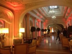 Hôtel Hermitage corridor