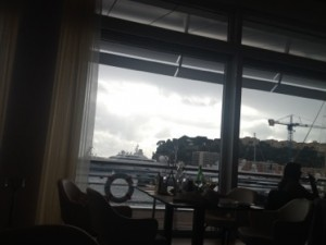 View from the Yacht Club