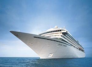 This is a cruise ship…