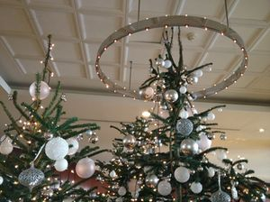 .. and stylish Christmas trees…