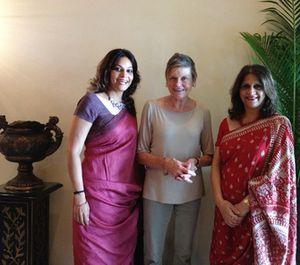 Super gear, Radhani Lalvani, left, and Deepa Harris