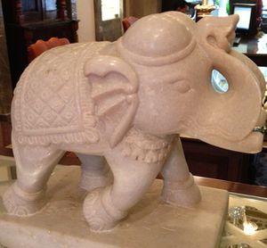An elephant for good luck