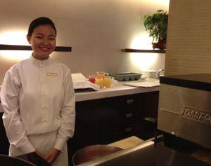 Breakfast 'toast concierge'