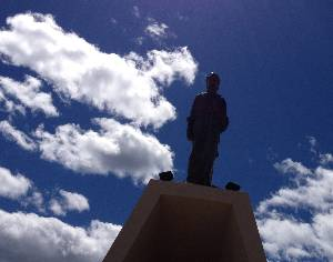 Welsh monument in Puerto Madryn Argentina
