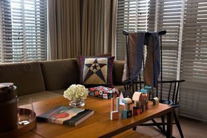 .. and a Clark chair in the Made in America suite