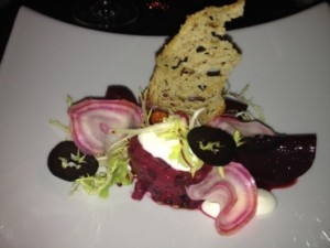 Simply good food, beetroot salad....
