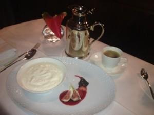 Greek yoghurt and coffee, 4.30 am