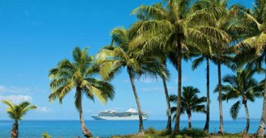 MS Paul Gauguin at Fiji
