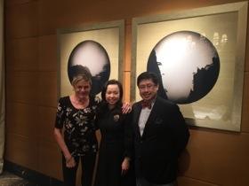 Cecilia Lui and Joseph Chong