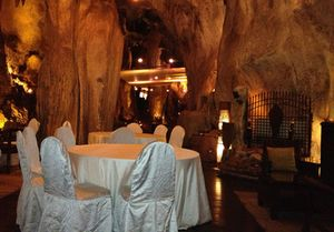 .. and the unique cave, gigantic, stalactites and mesmerising