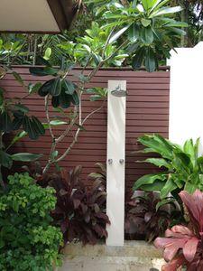 My outdoor shower