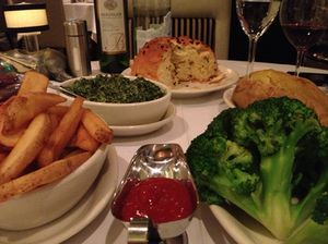 Substantial comfort food at Morton's of Chicago