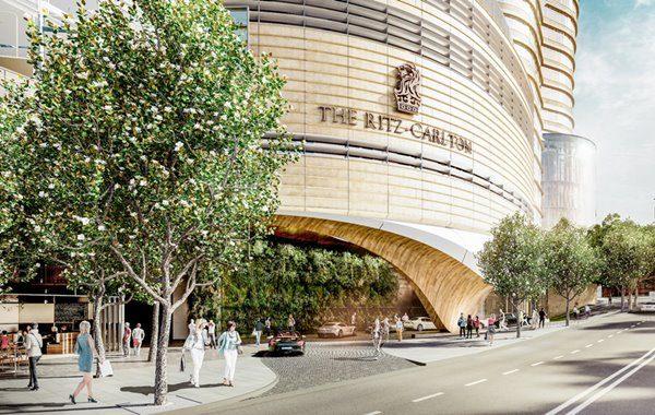 Proposed Ritz-Carlton Sydney front