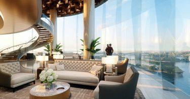 Ritz-Carlton Sydney lounge