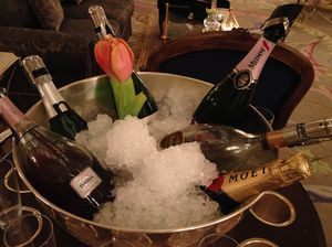 The Champagnes are on ice…