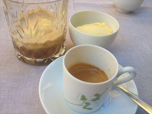 Summer coffee presentation