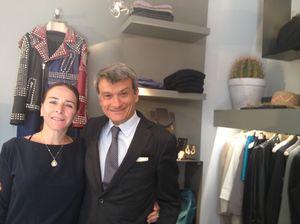 Bianca de Rosa and Mauro Governato in LUXlab