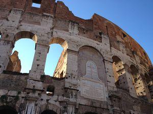 The Colosseum, close up