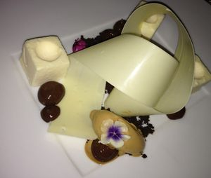 A signature Aroma dessert