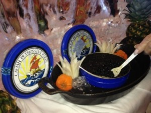 Petrossian at a special lunch buffet
