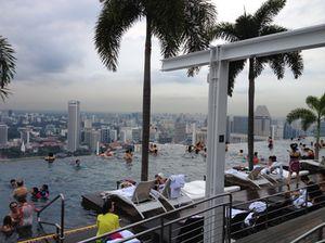 That 57th floor rooftop pool....