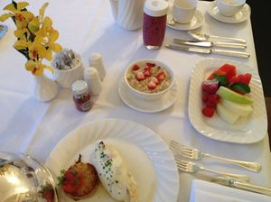 Health breakfast, Raffles style