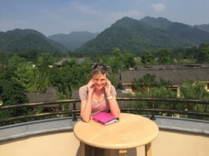 This is real! Background of Qing Cheng Mountain