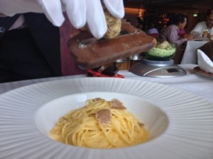 Truffles, spaghetti and Angelini's...
