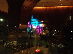 One of the many colours of Gateway of India…