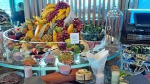 Talise Spa breakfast at PierChic, Dubai