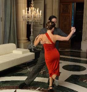 Tango in Palacio Duhau, Buenos Aires, Argentina