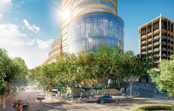 Future Ritz-Carlton Sidney project